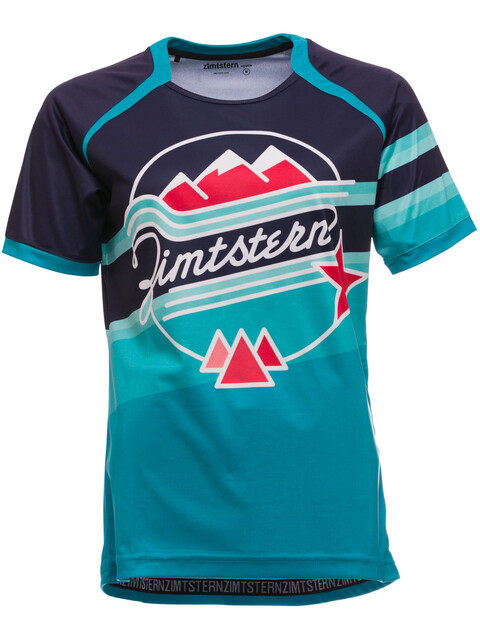 Zimtstern Beritz Bike Jersey Shortsleeve Women blue/turquoise